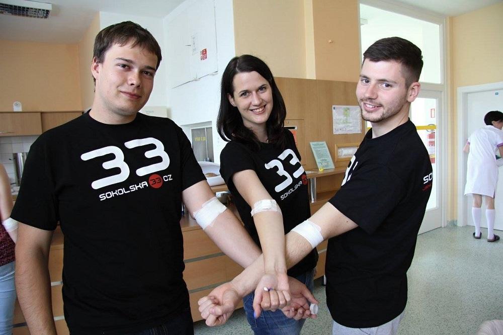Daruj krev s EkF 2016.