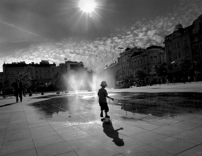 Město fotografií v galerii VŠB-TUO