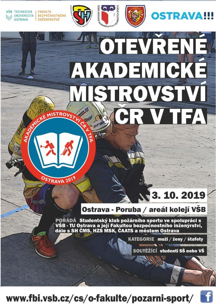 Akademické mistrovství ČR v TFA 2019