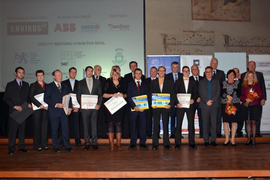Zdeněk Šmída zvítězil v 11. ročníku Studentské ceny ENVIROS