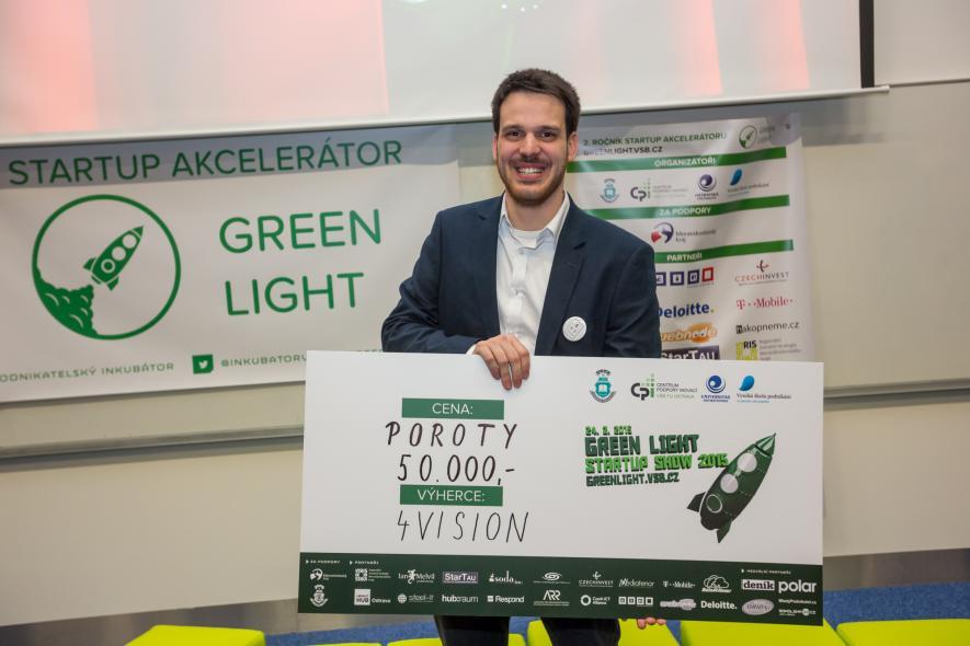 Soutěž GREEN LIGHT Startup Show 2015 zná své vítěze
