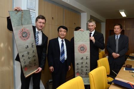 Spolupráce mezi ostravskými univerzitami a čínskou Soochow University