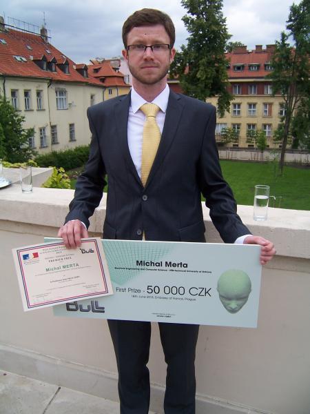 1. cena v celostátní soutěži o Cenu Josepha Fouriera v počítačových vědách