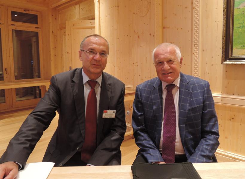 Zapomínáme na komunismus, řekl Václav Klaus na ekonomické konferenci VŠB-TUO