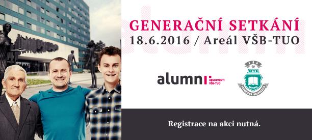 Generační setkání absolventů VŠB-TUO