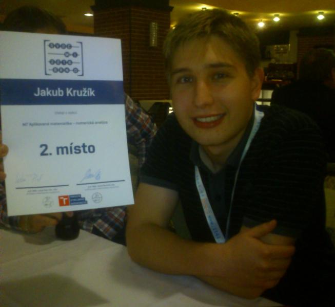 2. místo SVOČ 2016
