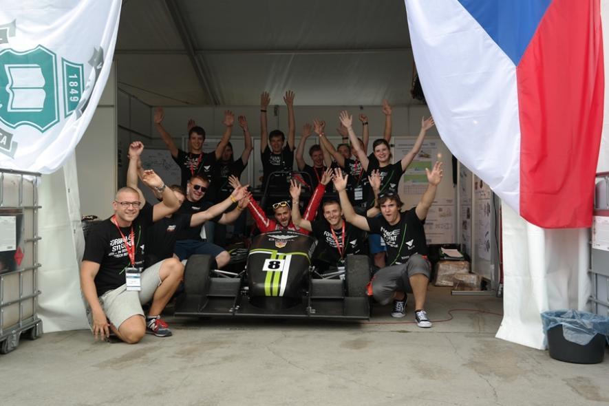 Formula Student Team VŠB-TUO úspěšně reprezentoval univerzitu i v zahraničí