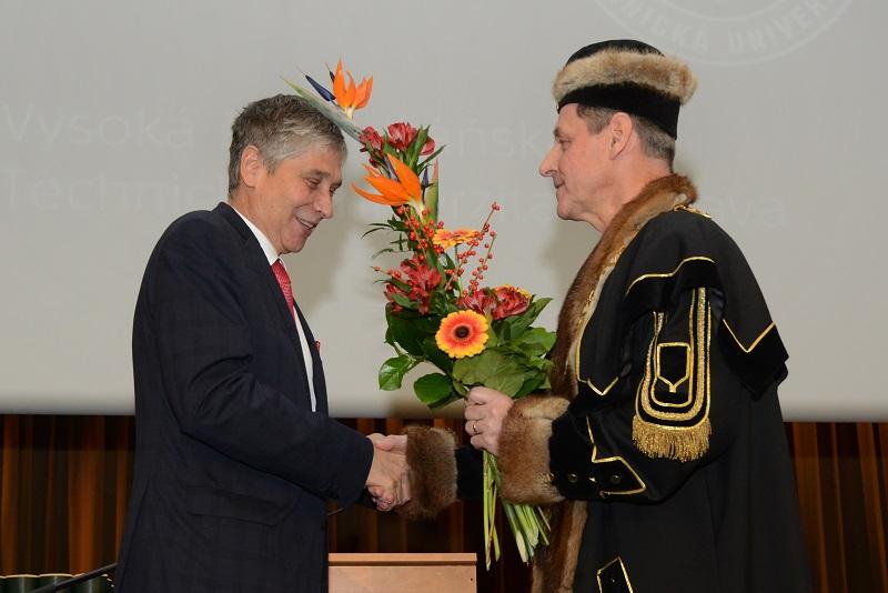 VŠB – Technická univerzita Ostrava má nové vedení