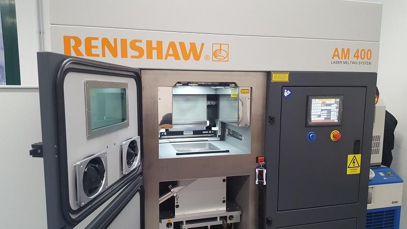 3D tisk kovů na unikátním zařízení