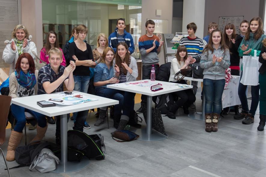 Tržiště nápadů přivítá na univerzitě mladé inovátory
