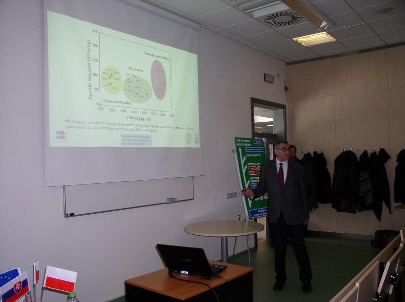 Mezinárodní vědecký seminář z oblasti progresivních materiálů a technologií Fakulty strojní
