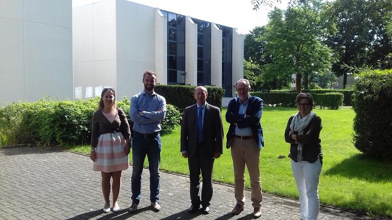 Děkan Fakulty elektrotechniky a informatiky prof. Snášel navštívil belgickou Hasselt University