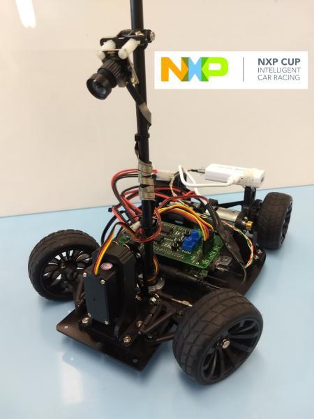 NXP CUP soutěž v autonomním řízení modelů vozidel