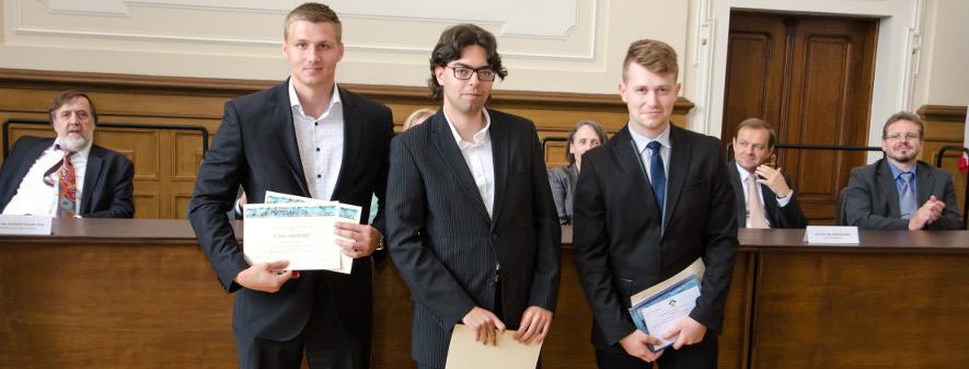 Úspěch studentů Fakulty stavební v mezinárodním kole SVOČ