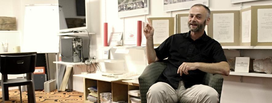 """""""Nesmělost a pokora mívají otevřené oči"""", říká úspěšný architekt Tomáš Bindr"""