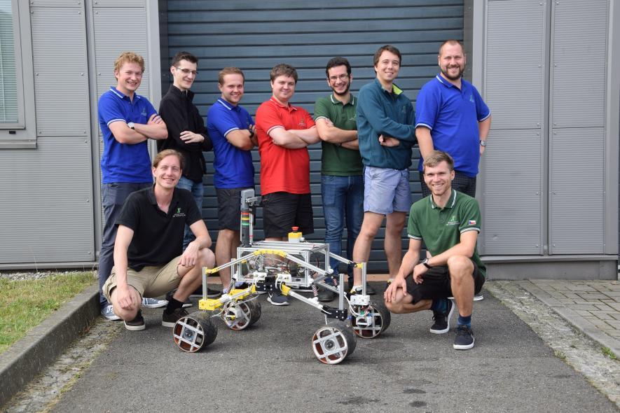 Rover VŠB-TUO je připraven do akce. Soutěžit bude v září
