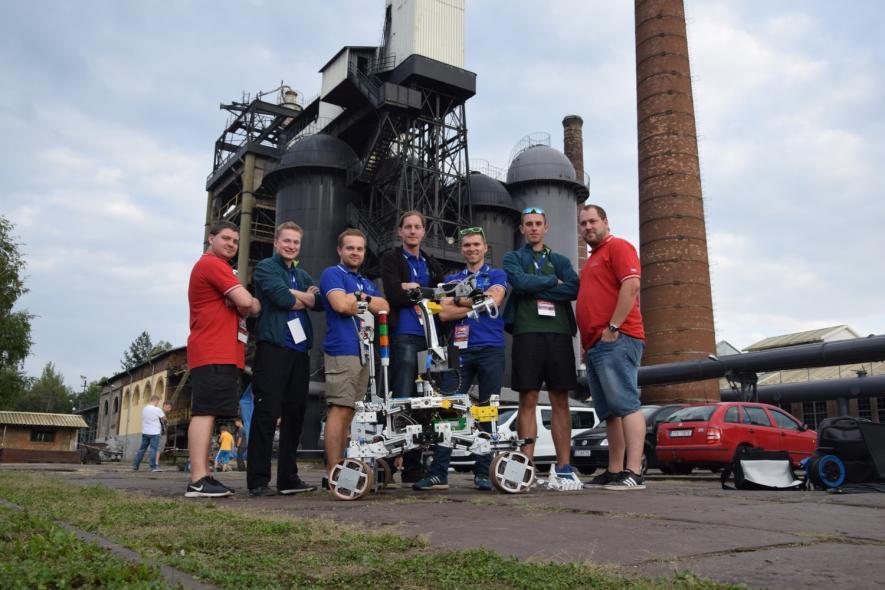 Úspěch doktorandů a studentů na European Rover Challenge 2018