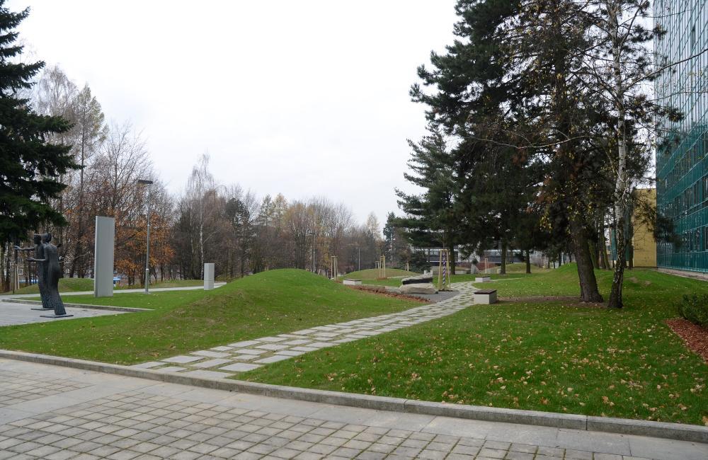 Představení nového parku doc. Kudou
