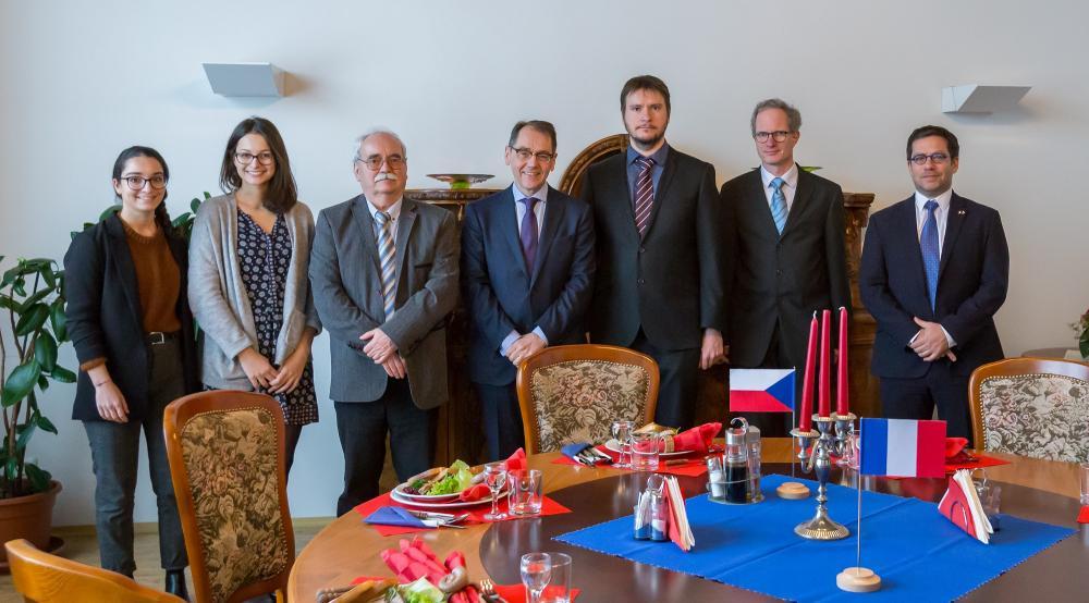 Francouzskému velvyslanci se líbila dynamičnost Ostravy i kraje