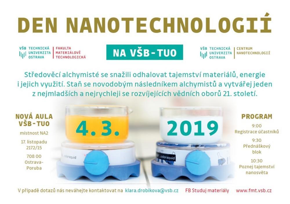 Den nanotechnologií na VŠB-TUO