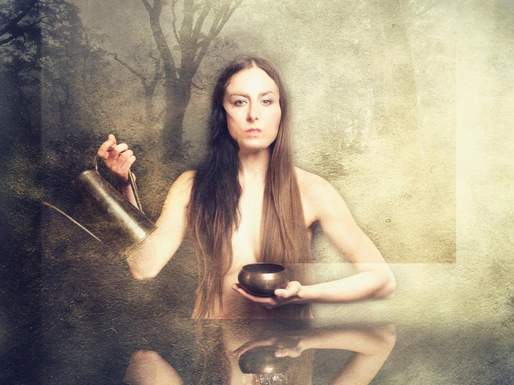 Žena, příroda, vesmír