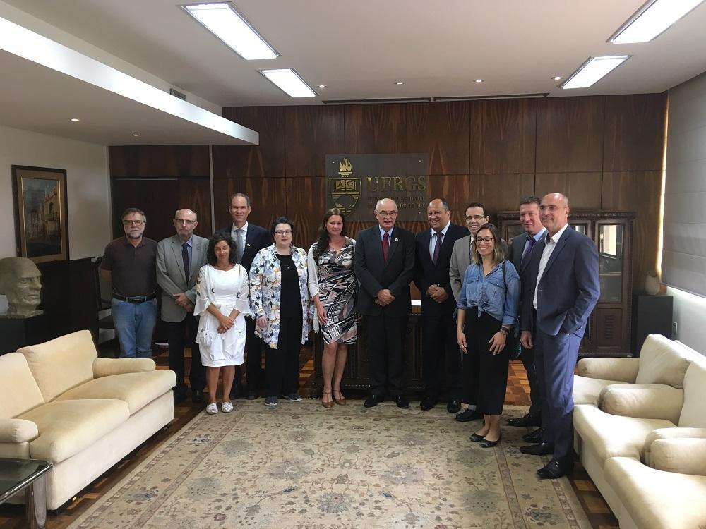 VŠB – Technická univerzita Ostrava zahájila spolupráci s brazilskou Federální univerzitou v Porto Alegre