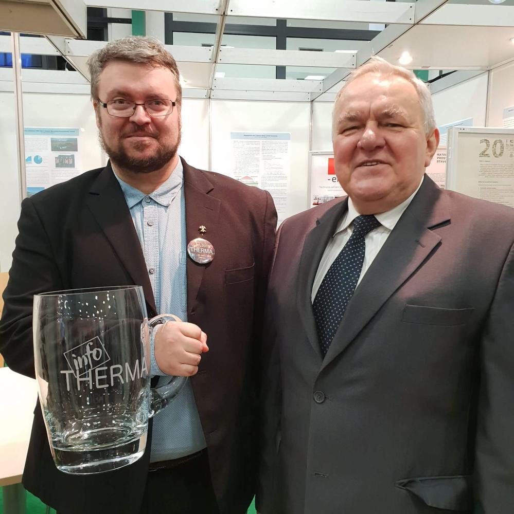 Na výstavě Infotherma vystavovala i FMT VŠB-TUO