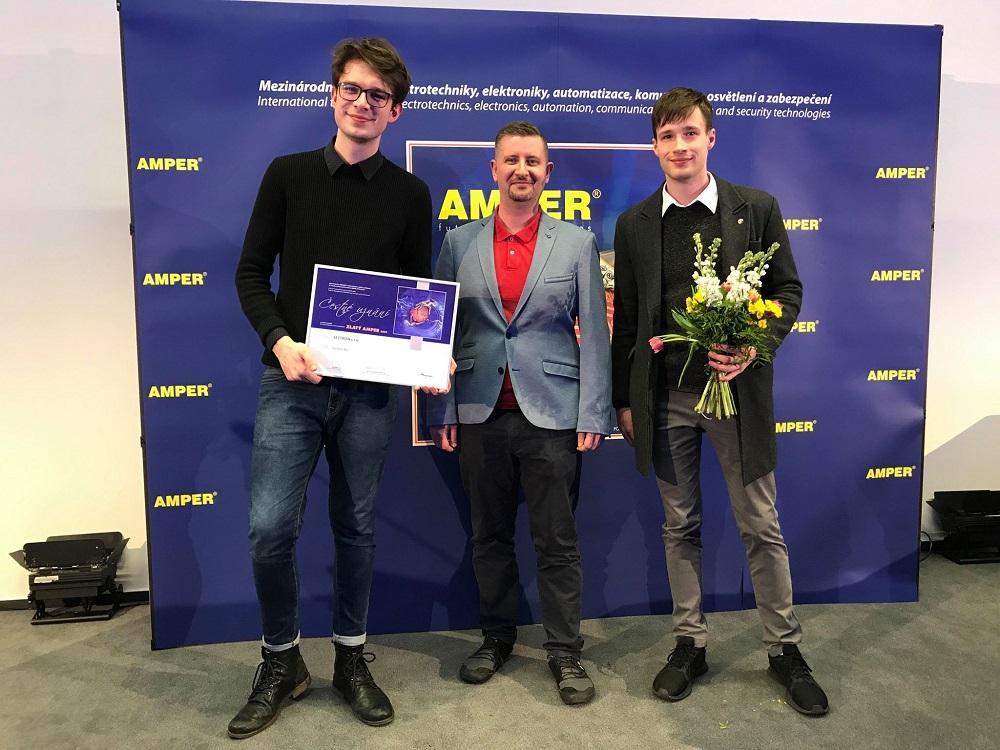 Čestné uznání komise ZLATÝ AMPÉR 2019