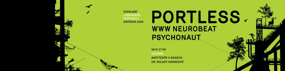 Zahájení Landscape festivalu v Ostravě