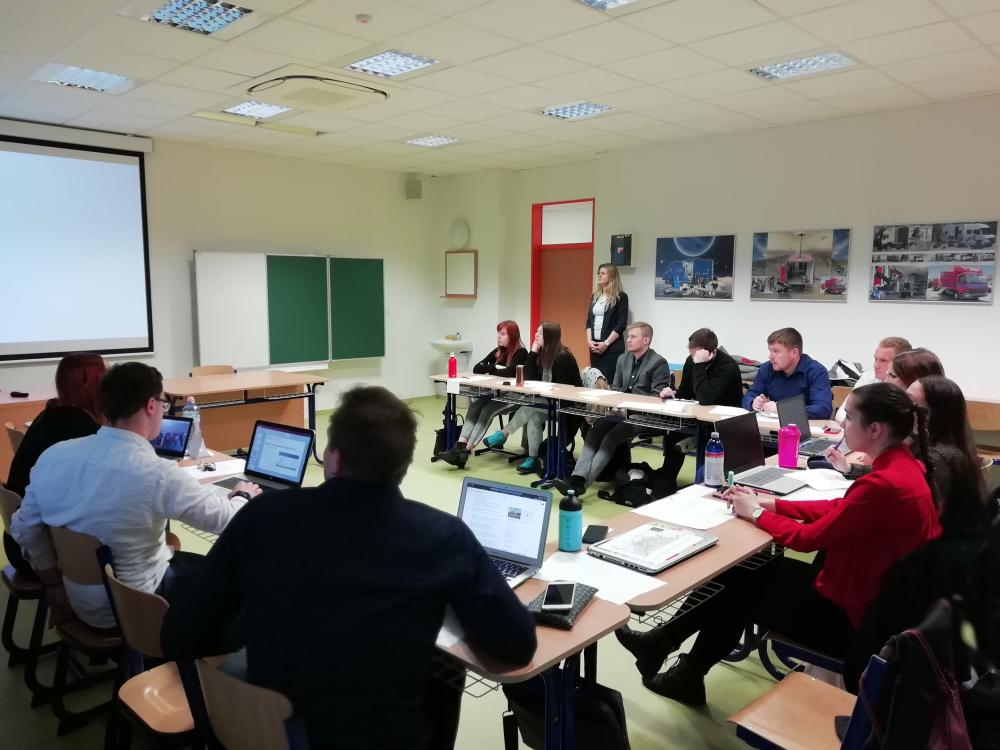 Simulace zasedání Bezpečností rady ORP
