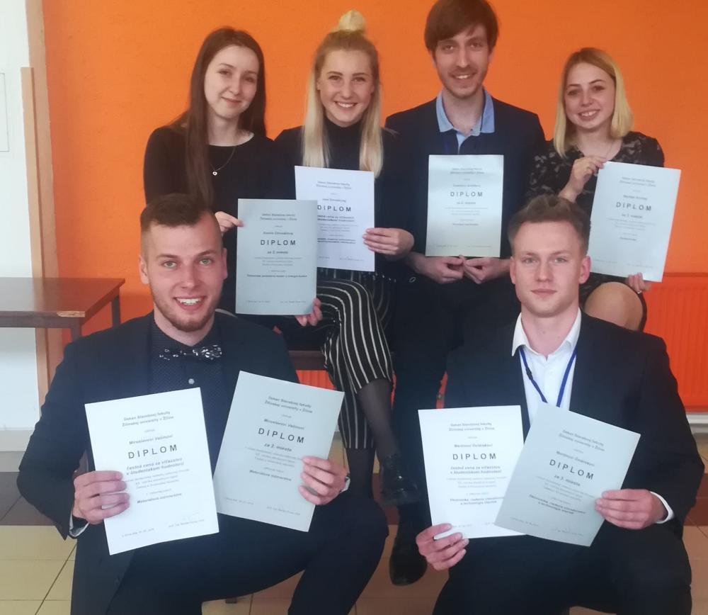 Úspěchy studentů FAST v mezinárodním kole soutěže SVOČ