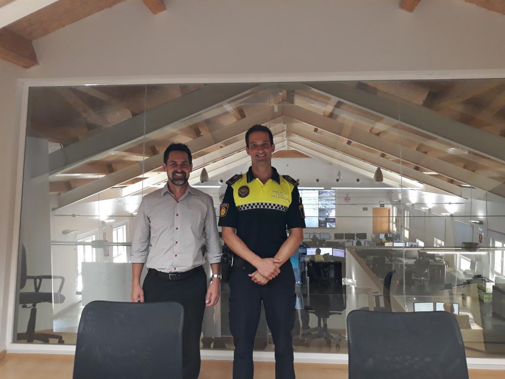 Navázání spolupráce s Valencia Local Police Headquarters