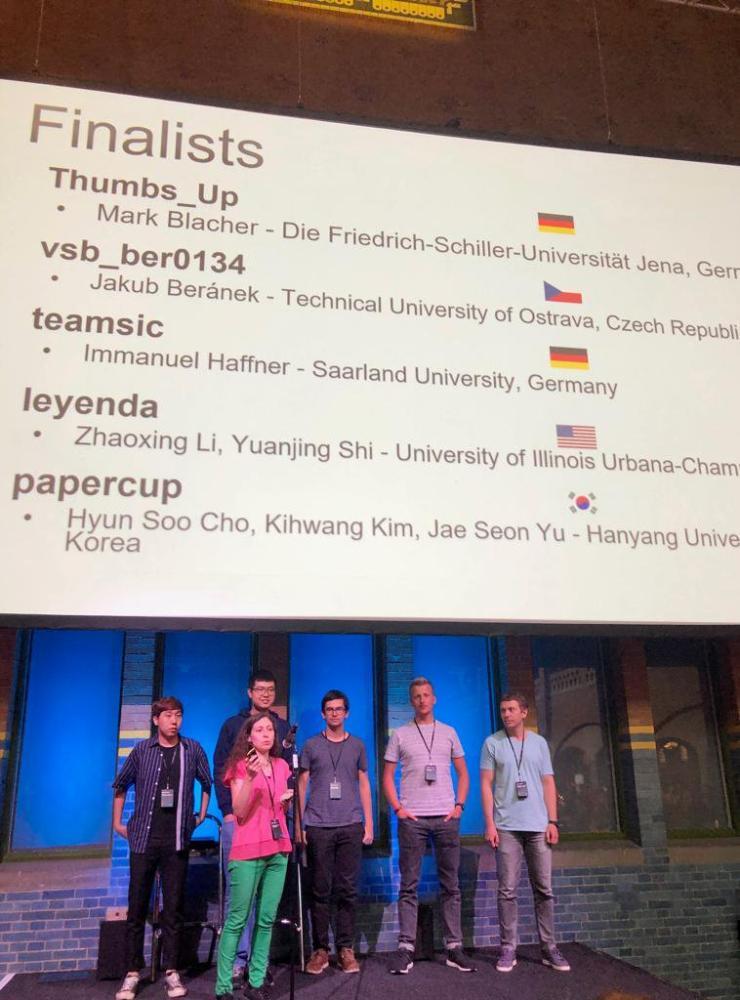 Úspěch Jakuba Beránka na ACM SIGMOD Programming Contest