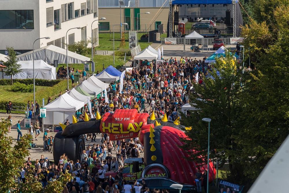 VŠB-TUO oslavila svých 170 let na univerzitním festivalu Art & Science