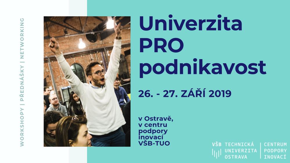 "Konference ""Univerzita PRO podnikavost"""