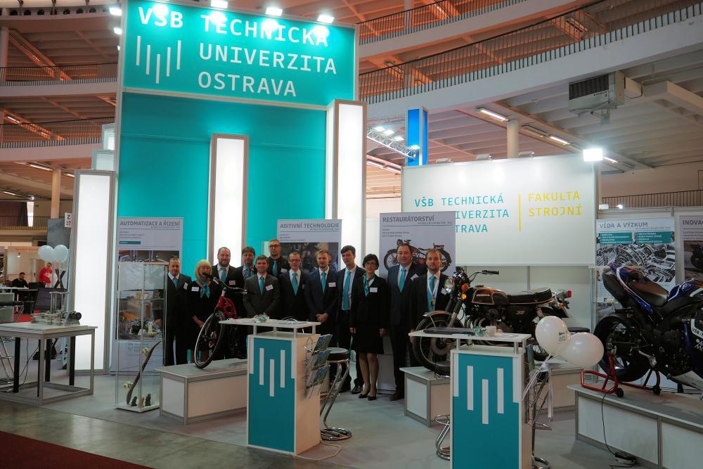 Fakulta strojní na Mezinárodním strojírenském veletrhu v Brně