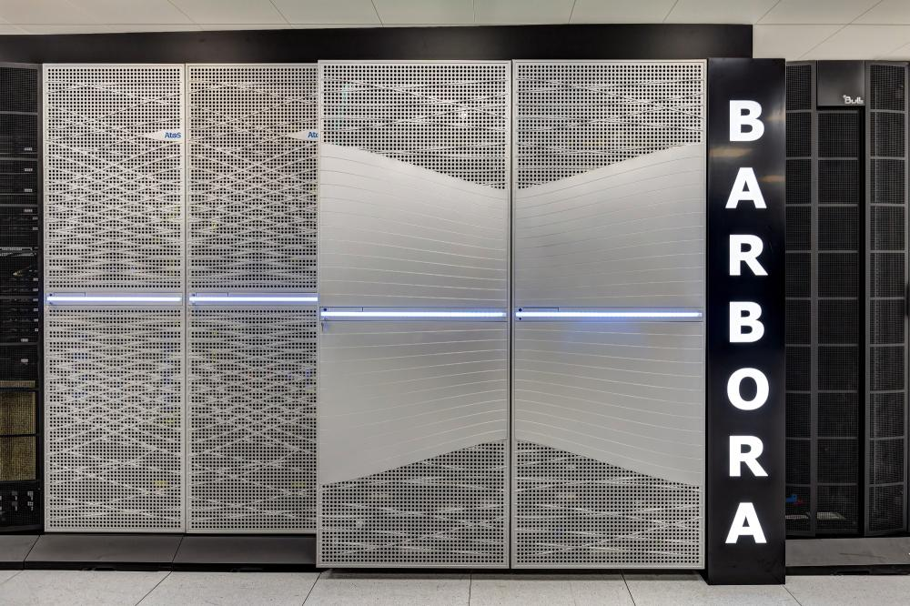 The new supercomputer in Ostrava is called Barbora