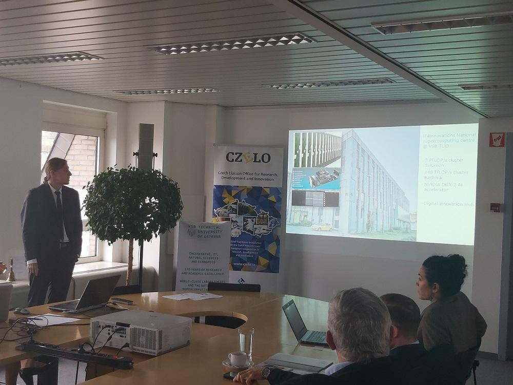 Univerzita připravila partnerskou burzu v Bruselu