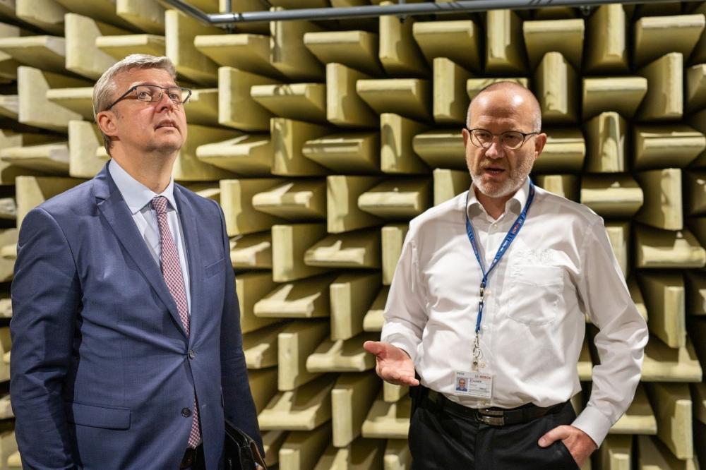 CPIT – EHAKL dodala high-tech akustické laboratoře do nového vývojového centra BOSCH v Českých Budějovicích