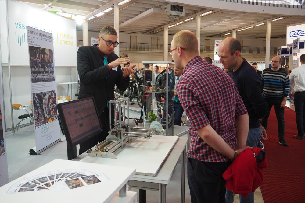 Premiere at the prestigious trade fair. Faculty of Mechanical Engineering attracted visitor´s attention