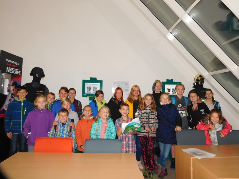 Návštěva dětí z SDH Klimkovice