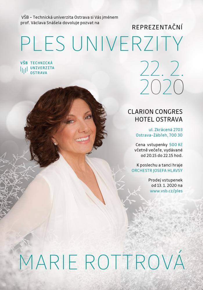 Reprezentační ples univerzity 2020