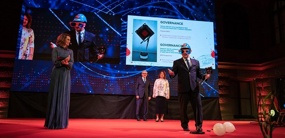 "According to Technology Agency of the Czech Republic, the best project in the category ""Governance"" was one from VSB-TUO"