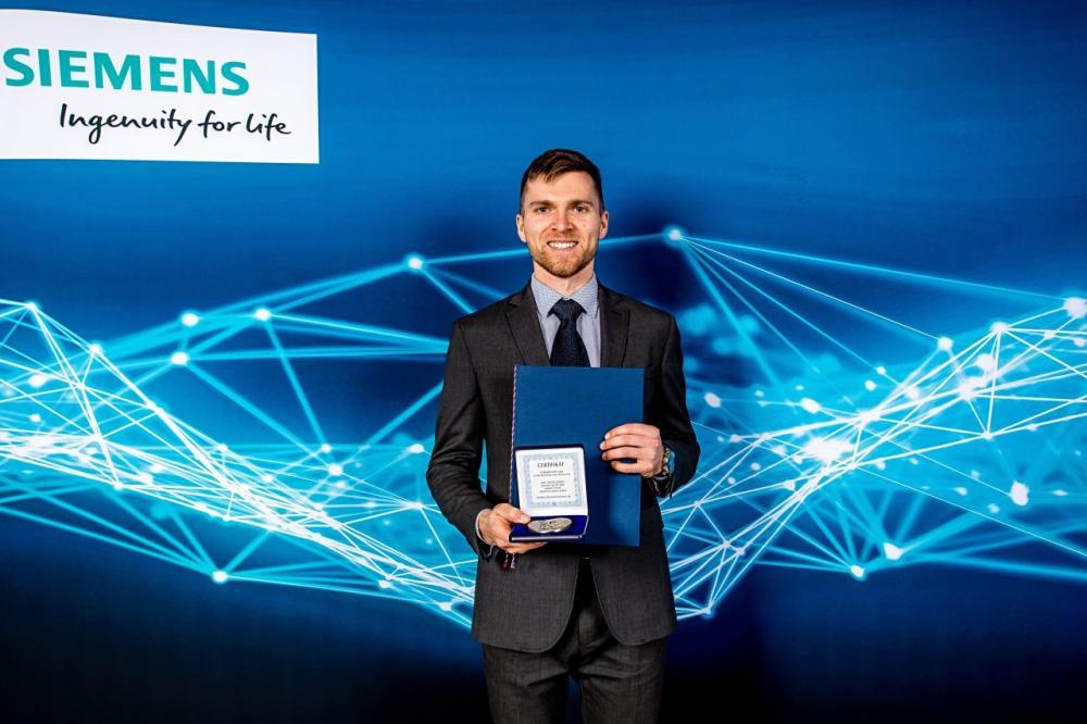 Aleš Vysocký z Fakulty strojní získal prestižní cenu za svou doktorskou práci