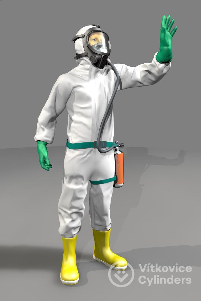 Cylinders Holding  a VŠB-TUO zahajují výzkum příručních dýchacích sad