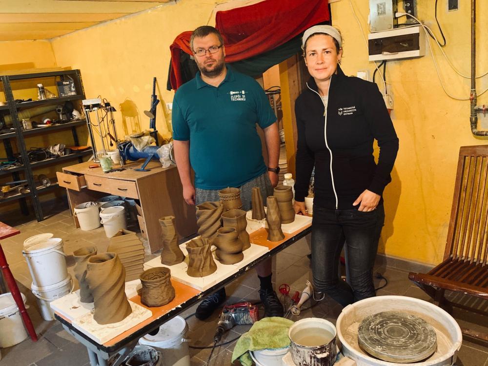 Školení 3D tisku keramiky