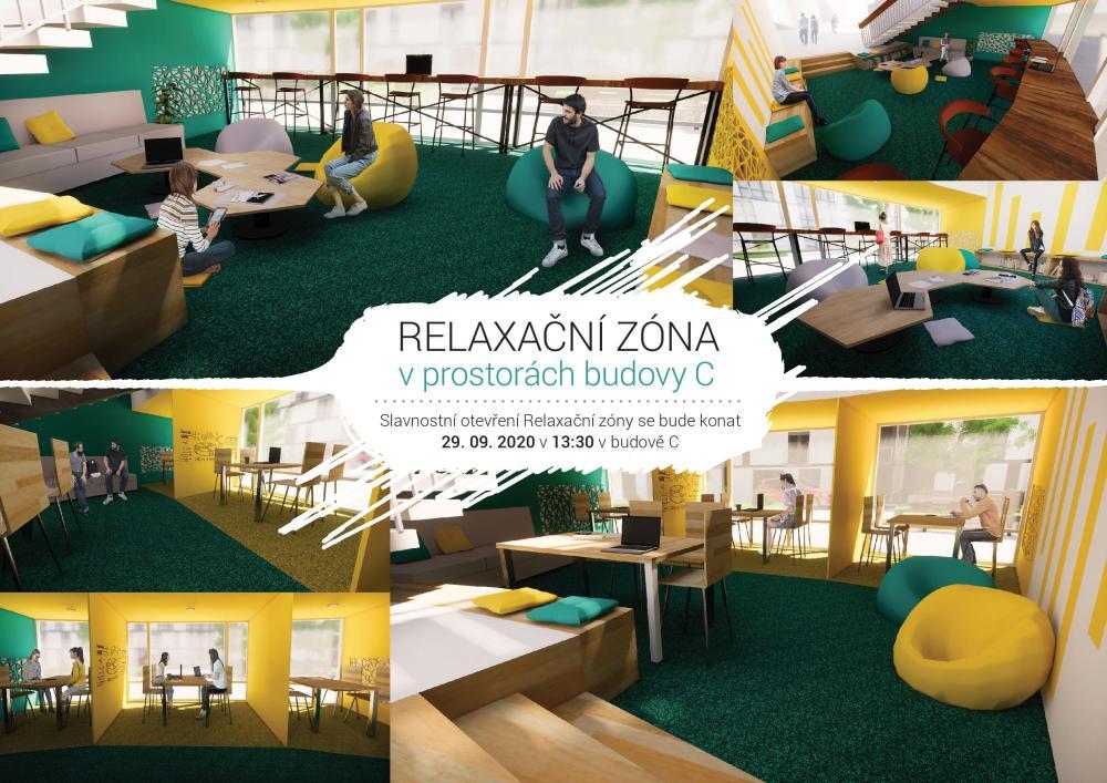 Slavnostní otevření studentské relaxační zóny