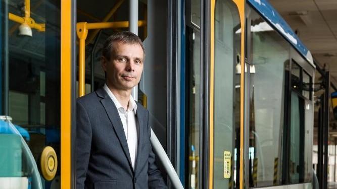 """""""Na studia na VŠB-TUO vzpomínám jedině v dobrém,"""" říká ředitel technického úseku v DPO Martin Chovanec"""