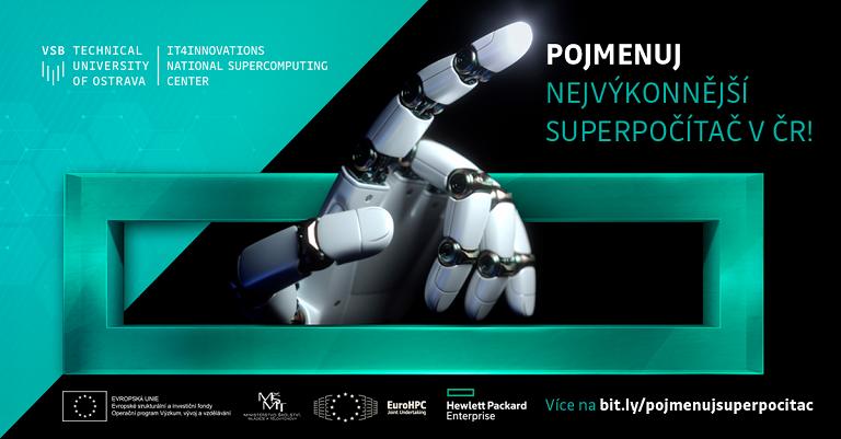 Pojmenujte nejvýkonnější superpočítač v České republice