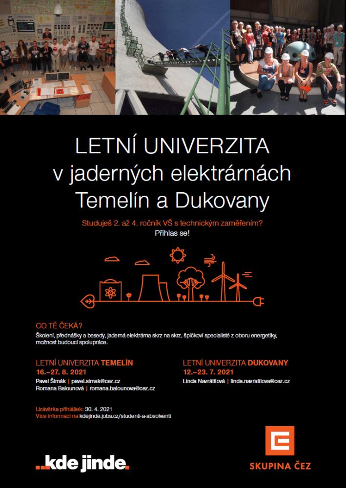 Letní Univerzita ČEZ